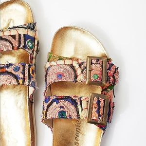 Free People Sandals Bali Foot Bed size 37